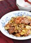 豚バラキャベツのコク旨味噌炒め