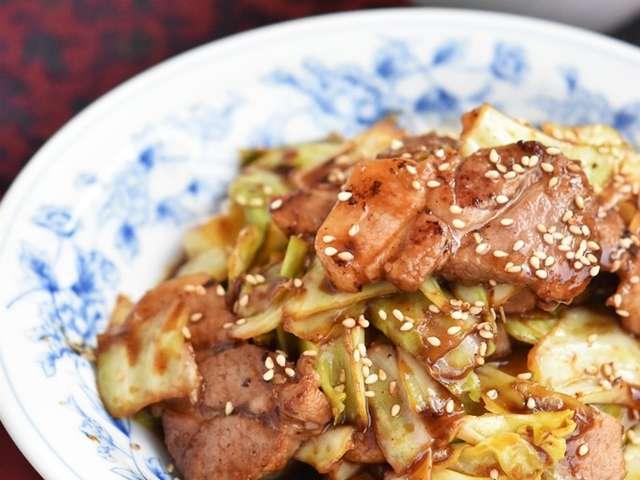 豚 バラ キャベツ 味噌