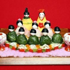 簡単酢めしで♪楽しく作ろうひなまつり寿司