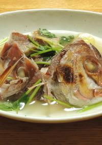 梅の酸味でさわやか✿真鯛の梅塩煮