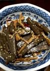 簡単♬美味しいメンマとこんにゃくの炒め煮
