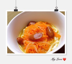 簡単♡野菜たっぷり食べるスープ♡