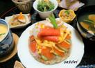 ひな祭り♪ドーム型ちらし寿司ケーキ!