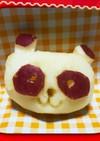 りんごでパンダちゃん(飾り切り)