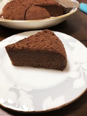簡単デザート!炊飯器でガトーショコラ風♡