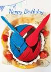 仮面ライダービルド☆立体ケーキ
