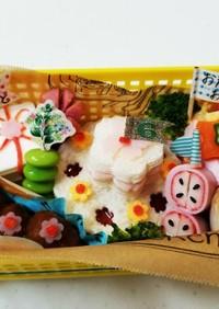 誕生日♡ケーキ♡お弁当♡6歳