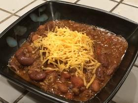 アメリカの家庭料理・ホームメイドチリ