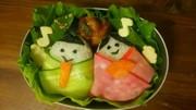 キャラ弁初級者向け!雛祭りにお雛様弁当!の写真