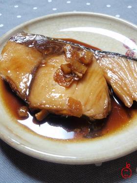 簡単、ぶりの生姜煮