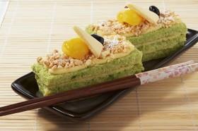 ほうれん草のオール米(マイ)ケーキ