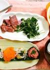 ひな祭り&結婚記念日メニュー 手まり寿司