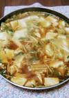 子供も食べれる豆腐チゲ鍋☆