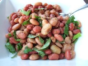 はちみつ&バルサミコが絶妙♪まめ豆サラダ
