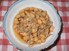 ジャコ大豆
