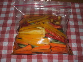 4色野菜の酢漬け