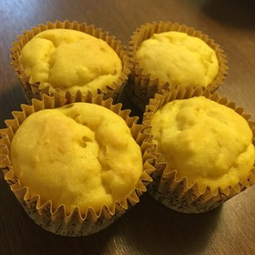 簡単★豆腐消費★蒸しパン風カップケーキ