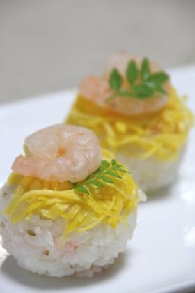 ひな祭り ラップ寿司