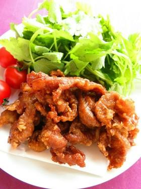 ☺節約レシピ☆簡単おかず♪豚肉の唐揚げ☺