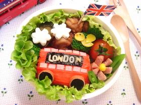 ロンドンバスおにぎり
