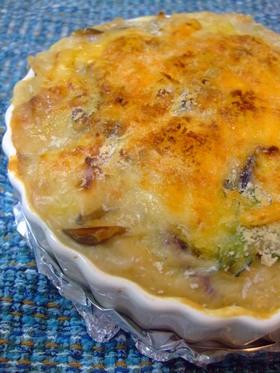 里芋の和風味噌グラタン