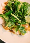 【減量中】ツルッと!ササミのゴマ味噌ダレ