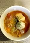 ゆるい脂肪燃焼スープ もち麦入り簡単です