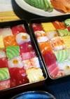 ひな祭り☆華やかモザイク寿司