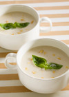 ピーナッツの冷製スープ