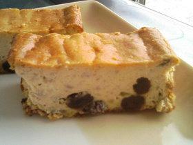 ハチミツでしっとり簡単バナナチーズケーキ