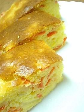 にんじん&りんごで簡単うまケーキ