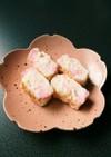 卵白消費★簡単★白とピンクの淡雪たまご
