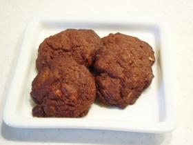 チョコとナッツのごろごろクッキー