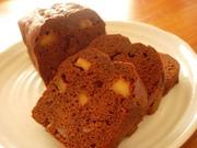 カラメルリンゴのチョコパウンドの写真