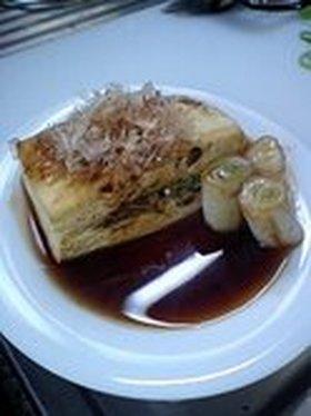 豆腐好き人間の冬向き 焼き豆腐