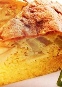 簡単☆炊飯器でリンゴはちみつケーキ