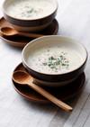 アマニと押し麦のスープ