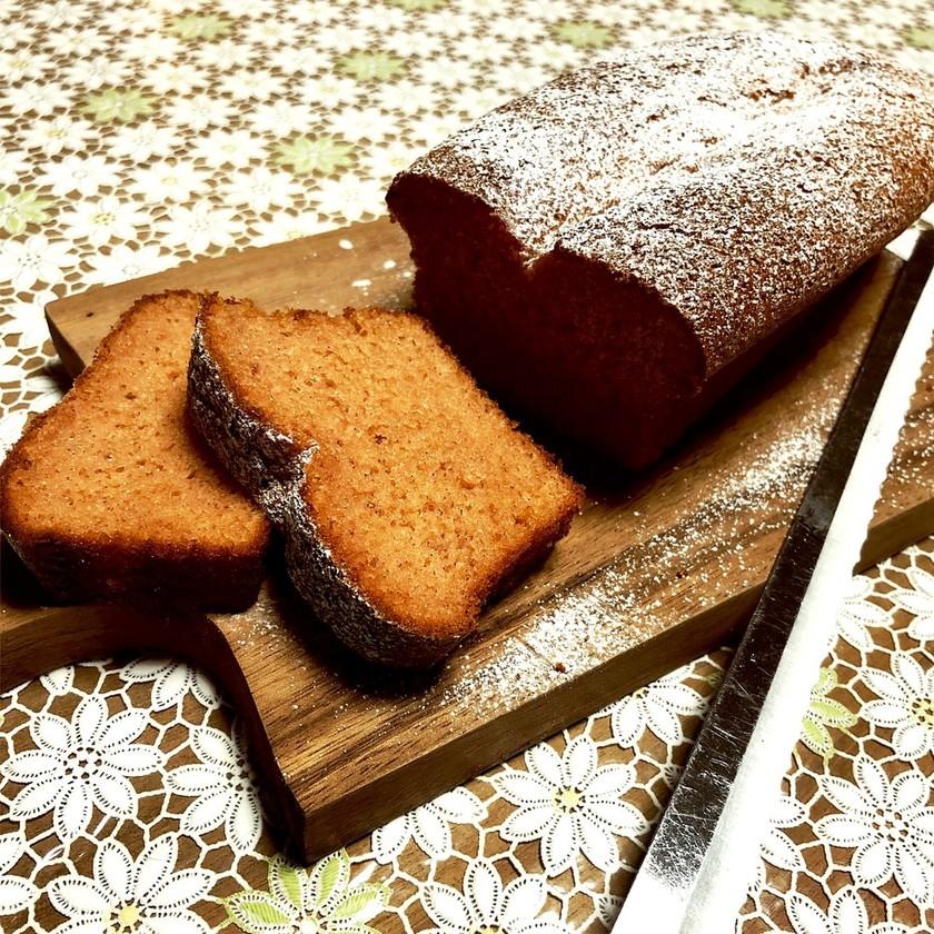 ふんわり♪いちごパウンドケーキ