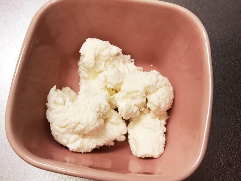 離乳食中期❁手作りカッテージチーズ