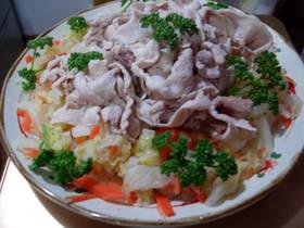さっぱりと美味しい♪ ☆豚しゃぶサラダ☆