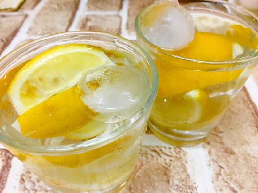 国産レモンのレモンサワー