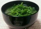 大根葉の味噌汁✿