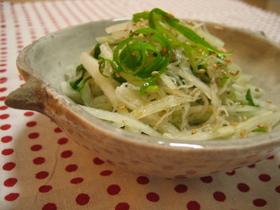 ねぎの健康サラダ
