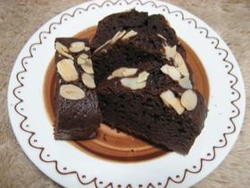 超簡単☆混ぜるだけでチョコケーキ