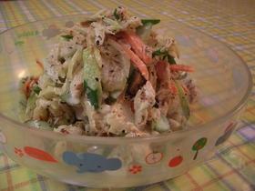 セロリと鶏ささみの和風なサラダ♪