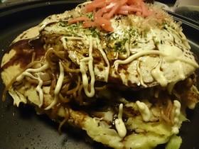 フライパンで小麦粉なしの広島風お好み焼き