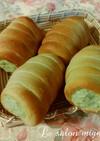 牛乳パック型で作る抹茶コルネ
