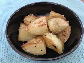 レンジde新じゃがのコンガリチーズ焼き*