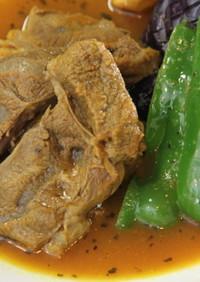 北海道産牛肉のスープカレー