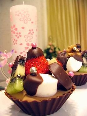 簡単!ショコラカップケーキ